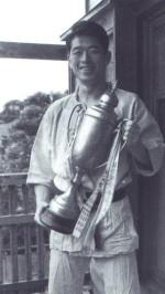 Hatsumi Sensei dans sa jeunesse, ninjas, ninja, nin jutsu, ninjutsu paris, nin jutsu paris, bujinkan, bujinkan paris, ninja paris