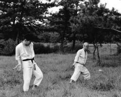 Hatsumi Sensei & Takamatsu Sensei, ninjas, ninja, nin jutsu, ninjutsu paris, nin jutsu paris, bujinkan, bujinkan paris, ninja paris