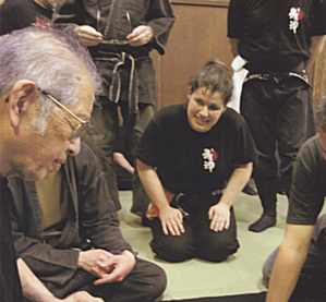 Virginie et Hatsumi Sensei