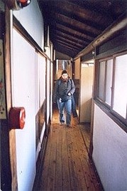 Départ le matin pour une journée de pratique, Un autre enseignement de Hatsumi Sensei,  hatsumi, hombu dojo, bujinkan, bujinkan paris, ninja, ninjutsu, kunoichi