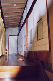 A droite notre chambre, Un autre enseignement de Hatsumi Sensei,  hatsumi, hombu dojo, bujinkan, bujinkan paris, ninja, ninjutsu, kunoichi