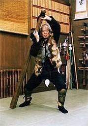 Hatsumi sensei au Hombu Dojo, ninjas, ninja, nin jutsu, ninjutsu paris, nin jutsu paris, bujinkan, bujinkan paris