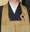 Le Kesa du moine, Un autre enseignement de Hatsumi Sensei,  hatsumi, hombu dojo, bujinkan, bujinkan paris, ninja, ninjutsu, kunoichi