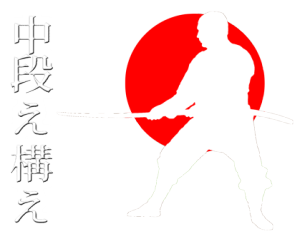 Kamaé au sabre en Nin Jutsu : Chu Dan no Kamaé Maé, sabre, katana, Le Dojo, dojo, budo, bushi, samourai, ninjas, ninja, nin jutsu, ninjutsu paris, nin jutsu paris, bujinkan, bujinkan paris, ninja pari