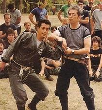 Hatsumi Sensei lors d'un Taikai, Le Dojo, dojo, budo, bushi, samourai, ninjas, ninja, nin jutsu, ninjutsu paris, nin jutsu paris, bujinkan, bujinkan paris, ninja paris