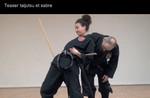 Sabre et Tai Jutsu en Nin Jutsu