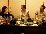 Repas entre amis au japon
